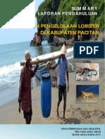 Laporan Pendahuluan Lobster Pacitan 2013