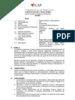 Derecho Minero e Hidrocarburos UAP_Silabo