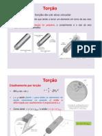 Aula 12 Torção IFES CONCURSO PETROBRAS