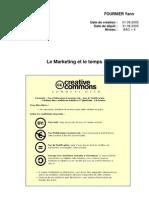 Le Marketing Et Le Temps[1]