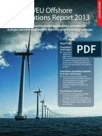 WEU Offshore Foundations Report Extract 2013