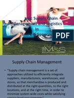 Strategic Supply Chain Management and Logistics, Mark and Spencer