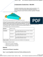 OS-2010 Design Concept for an Automotive Control Arm