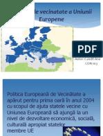 Politica de Vecinatate a Uniunii Europene