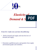 Lecture 2 Elasticity of Demand and Supply