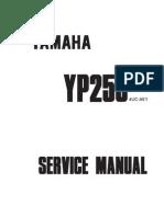 Yamaha YP250 Majesty Service Manual (1995-1999)