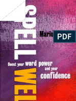 89229533 Spell Well Boost Your Word Power and Your Confidence
