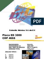 CDP4666 ED3000 Placas