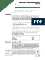 Altera Understanding 40-Nm FPGA Solutions for SATA_SAS