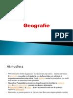 Geografie.Atmosfera
