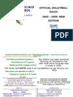 Regras Oficiais Da Fivb 2005-2008