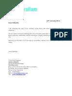 Main Business Proposal(Merollam)Srikanth (3)