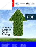 Social Europ Report - Towards an European Growth Strategy