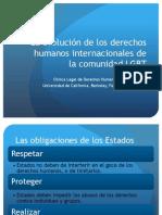 Allison Davenport (Clínica Legal de Derechos Humanos Internacionales Universidad de California, Berkeley, Facultad de Derecho), La evolución de los derechos humanos internacionales de la comunidad LGBT