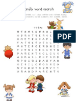 06 11 07Family Word Search