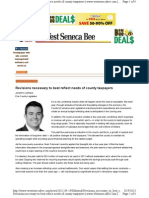 Joseph Lorigo's 4/19/12 West Seneca Bee column