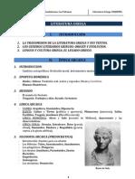 2. Esquema de La Literatura Griega