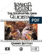 Advanced Fighting Fantasy Quickstart