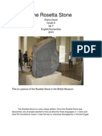 Elisha David Ancient Egyptian Research Paper