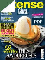 Cuisine Actuelle Hors Série Intense N°7-Avril-Mai 2013