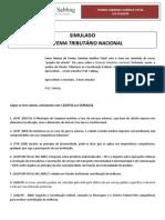 Simulado O SISTEMA TRIBUTÁRIO NACIONAL