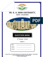 b Tech 2nd Sem Question Bank Volume 1
