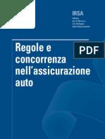 Regole e Concorrenza Nell'Assicurazione Auto