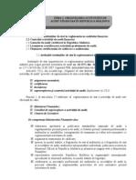 Tema 2. Organizarea activităţii de audit financiar în RM