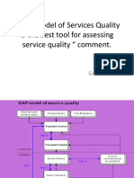 Gap Model of Services Marketing and Why