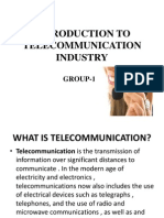 Introduction to Telecommunication Industry