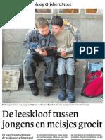Leeskloof Tussen Jongens en Meisjes Groeit Mrt 2013