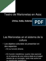 Teatro de Marionetas en Asia