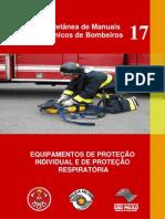 Manual - Equipamentos de Proteção Individual e Respiratória para Bombeiros
