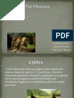 A Pré História - Trabalho de ed. fisica