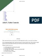 6 ABAP _ Table Controls