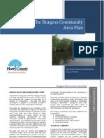 The Burgess Area Plan