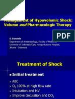 Dr. Sunatrio - Management Hypovolemic Shock