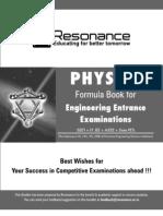 Gyan-Sutra-Physics-Formula-Booklet IIT JEE , AIEEE