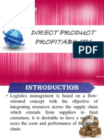 direct product profitability ppt