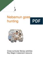 Egypt Nebamun Literacy KS2c