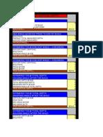 Tvd Spreadsheet