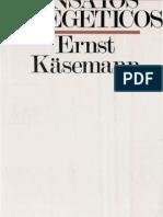 Ernst Käsemann-Ensayos exegéticos