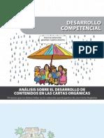 Análisis sobre el desarrollo de contenidos en las Cartas Orgánicas