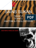 Topik 3 Anatomi & Fisiologi Sukan Thp II