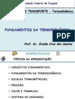 Capítulo 1 - Fundamentos da Termodinâmica