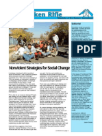 The Broken Rifle, No 95 - Nonviolent Strategies for Social Change