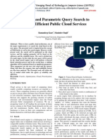 A Rank Based Parametric Query Search to