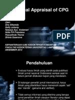Critical Appraisal Ppt
