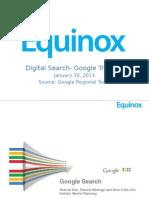 Digital Search- Google Training- Equinox