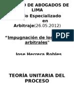 Impugnacion de Laudos Arbitrales i 26-05-12